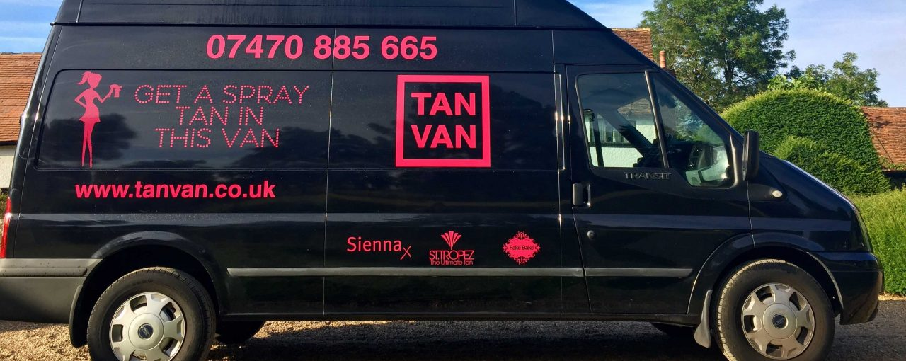 KATIE'S TAN VAN FILLS A GAP IN THE MARKET